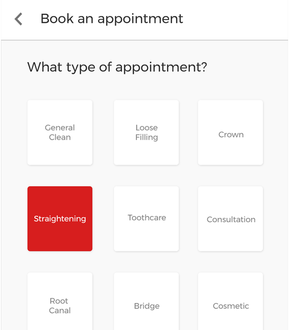 Doctors Appointment booking Android app