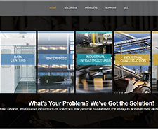 Panduit Home Page Redesign