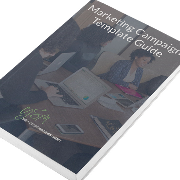 marketing campaign template guide book